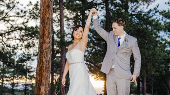 Mimi + Matt - Colorado Wedding Photograp