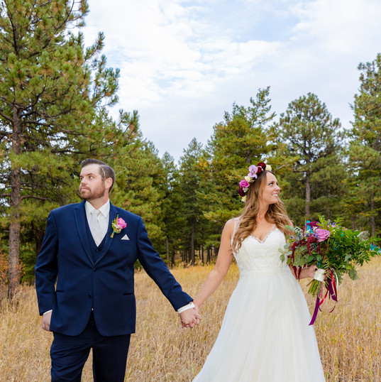 Jess + Patrick - Colorado Wedding Photog