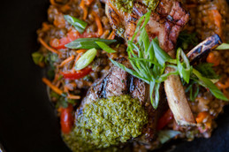 LAMB CHOPS - The Roost - Longmont Food P