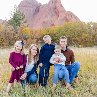 Family Photos at Roxborough State Park | Littleton Family Photographers | Colorado Family Photos