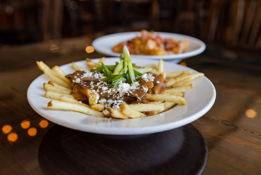 MUSHROOM STYLE Fries - The Roost - Longm