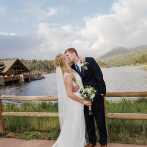 Mary + Ty | Evergreen Colorado Wedding Photography | LAB Photography Denver | Evergreen Lake House
