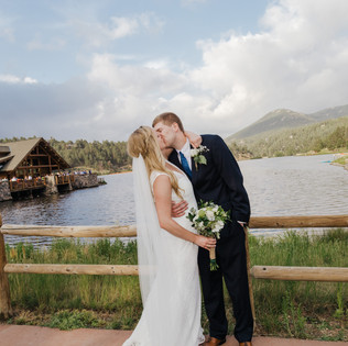 Mary + Ty | Evergreen Colorado Wedding Photography | LAB Photography Denver | Evergreen Lake House