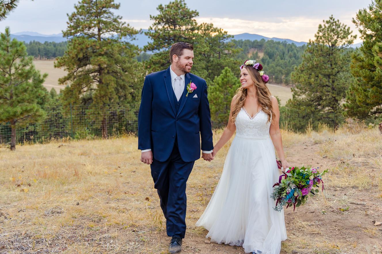 Jess + Patrick - Colorado Wedding Photog