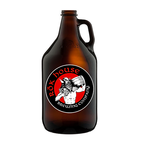 Craken Blond Cream Ale - 64oz Growler (including NEW vessel)
