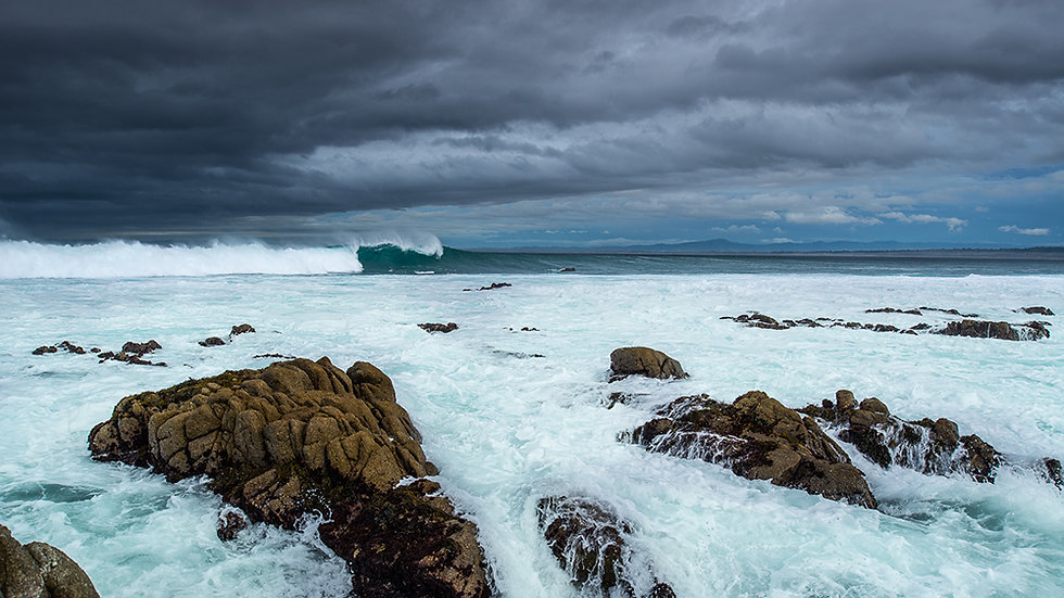 Forbidding Sea