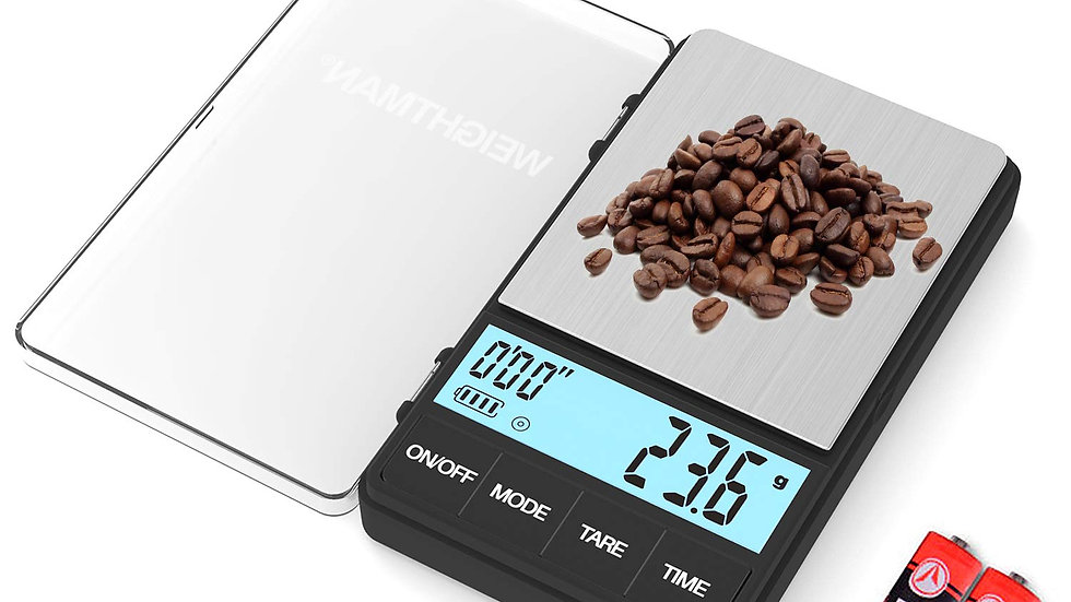 Weighman mini scale with timer