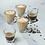 Thumbnail: Loveramics Urban Glass Twisted Cortado / Cappuccino (Clear)