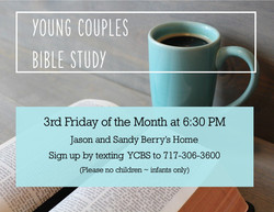 Young Couples Bible Study