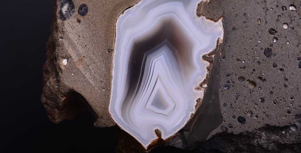 Mull Scottish Fortification Agate in Matrix AG0412