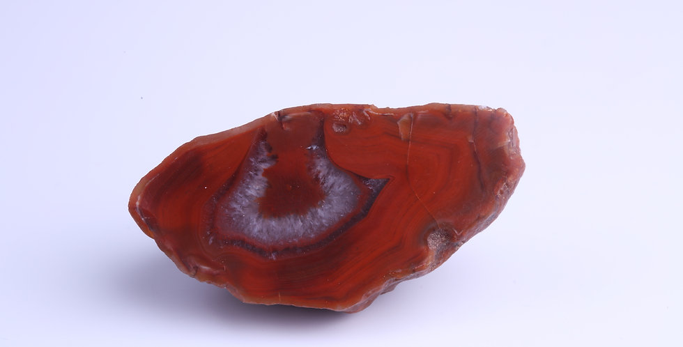 Red Scottish Agate Dunure AG0156
