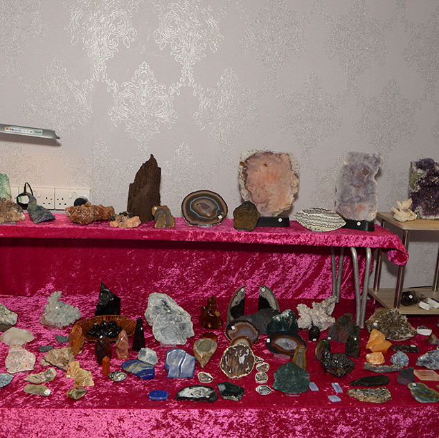 Lotus Crystals stall