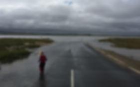 Holy Island Causeway - credit William Th