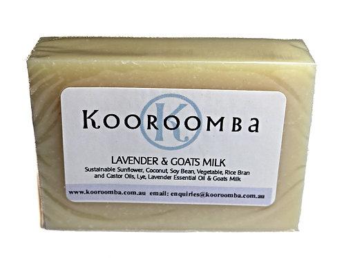 Lavender & Goats Milk Soap