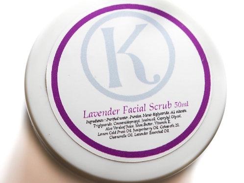 Lavender Facial Scrub