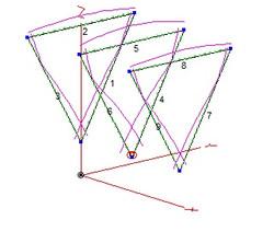 Delta Loop 3 element 28Mhz
