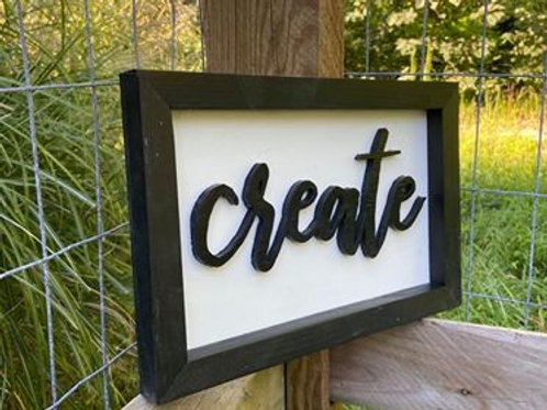 Small Sign - ($15.00)