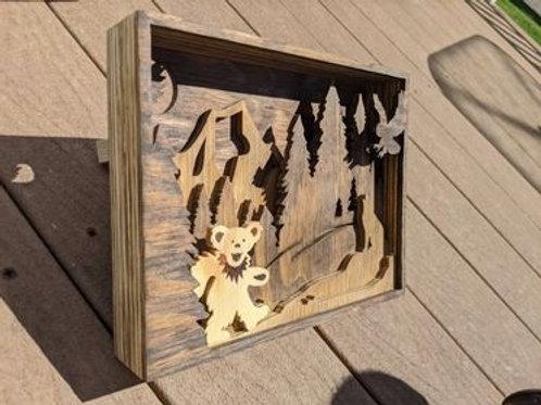 Bear Nature Scene