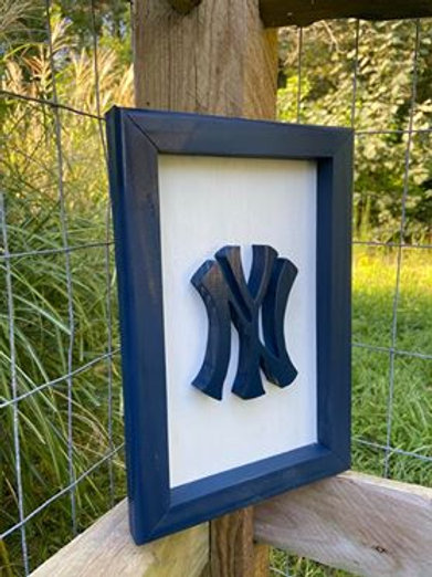 Handmade Wooden NY Yankees Signs