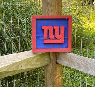 Small Red & Blue NY Giants