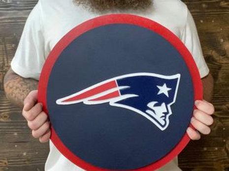 Handmade New England Patriots NFL Logo