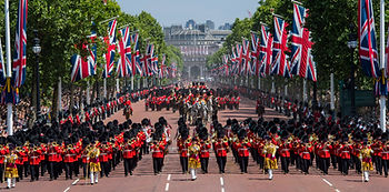 The_Coldstream_Guards_Troop_Their_Colour