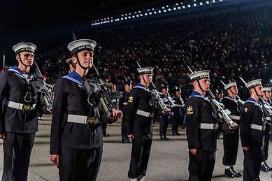 Terri Johnson in Guard of Honour.jpg
