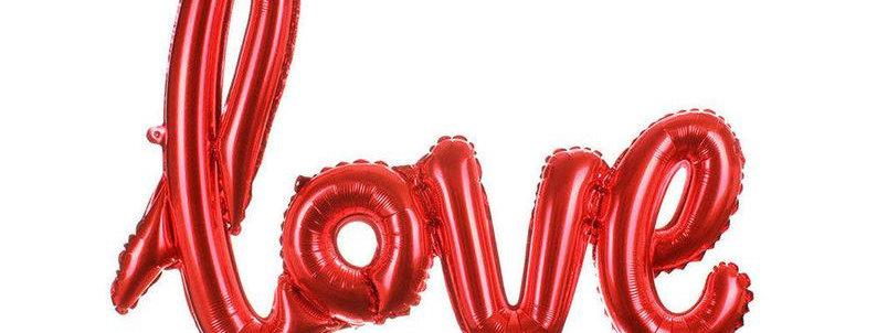 Globo Rojo LOVE
