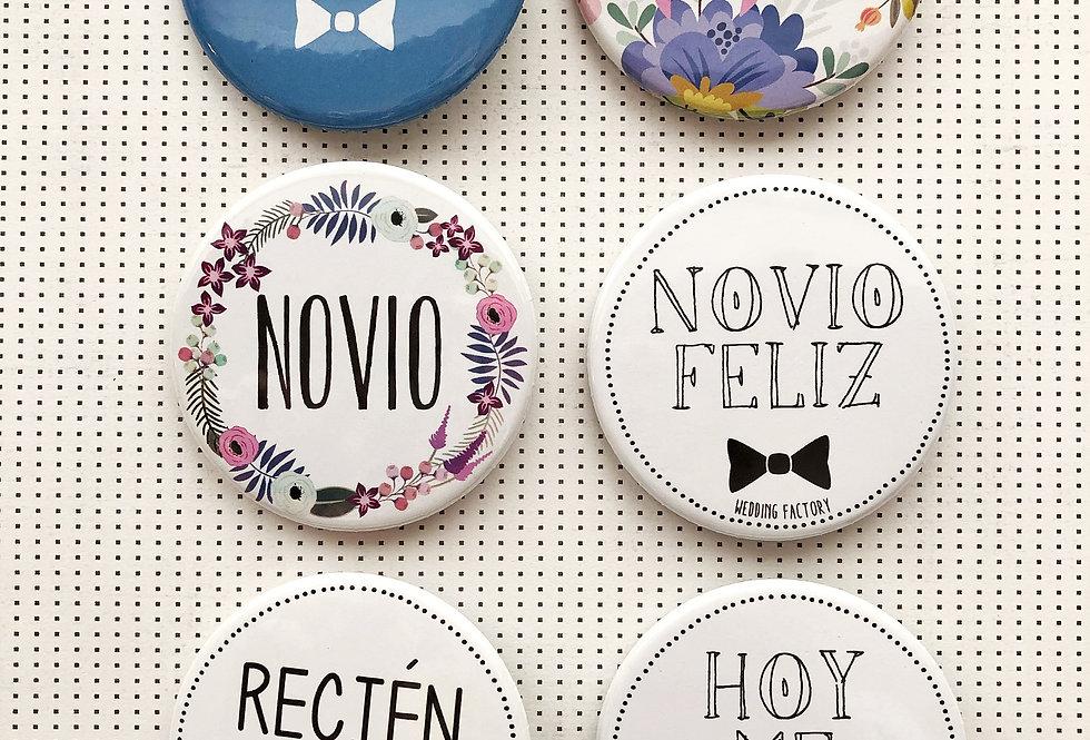Pins NOVIO