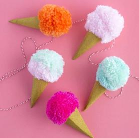 Guirnalda helados
