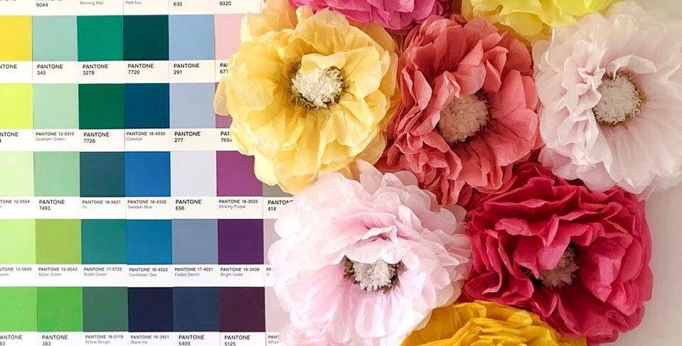 Pack De Flores De Papel