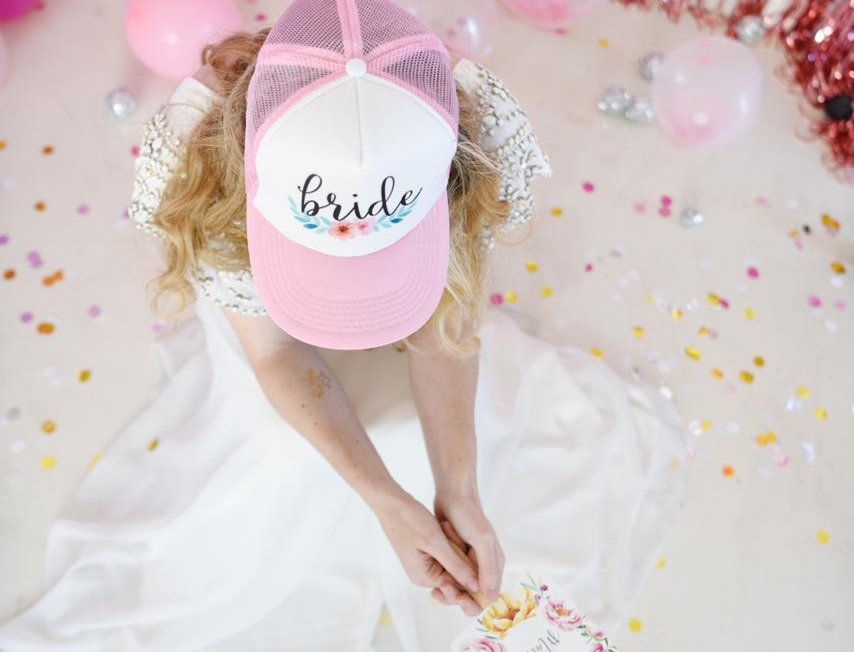 Cap BRIDE & TEAM BRIDE
