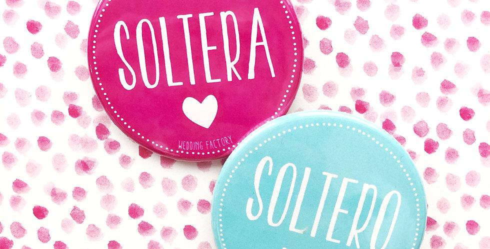 Pins SOLTERO / SOLTERA