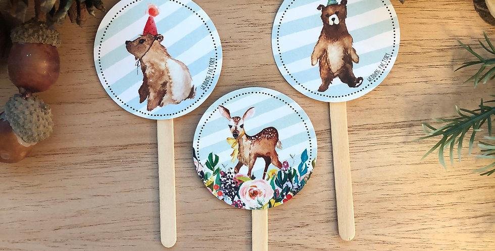 Pinchos Cupcakes - Pack de 10