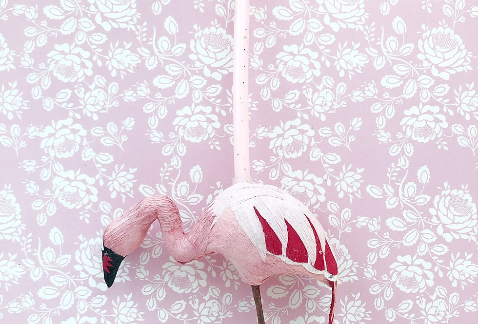 Vela Animal De Papel Mache