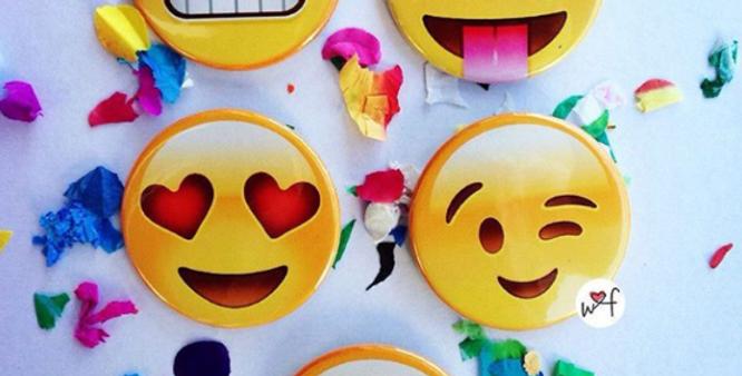 PINS emoji x 10 unidades