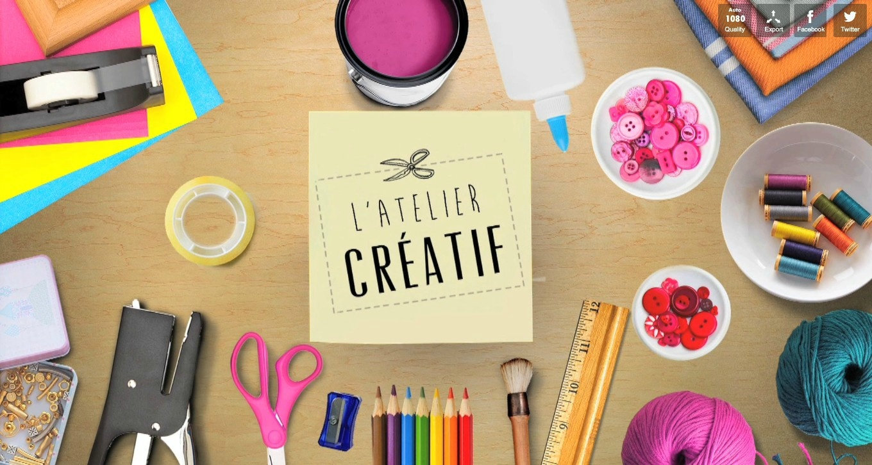 Moyen atelier créatif