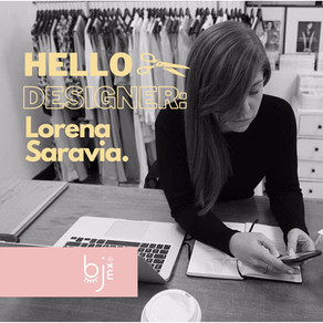 Hello Designer: Lorena Saravia.