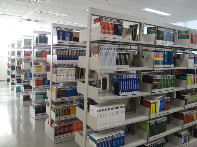 Novo layout da Biblioteca
