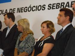 Inauguração da Etec Sebrae
