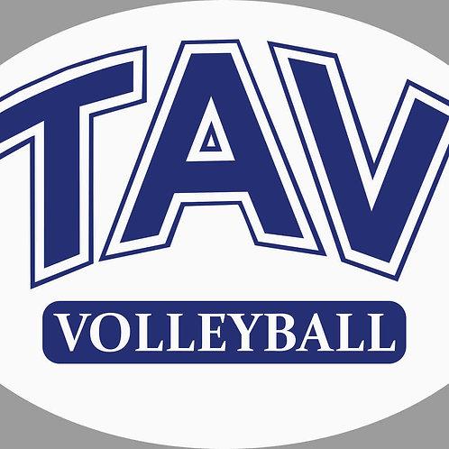 TAV Volleyball Car Magnet