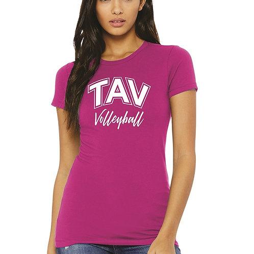 TAV VOLLEYBALL - BELLA+CANVAS ® Women's The Favorite Tee
