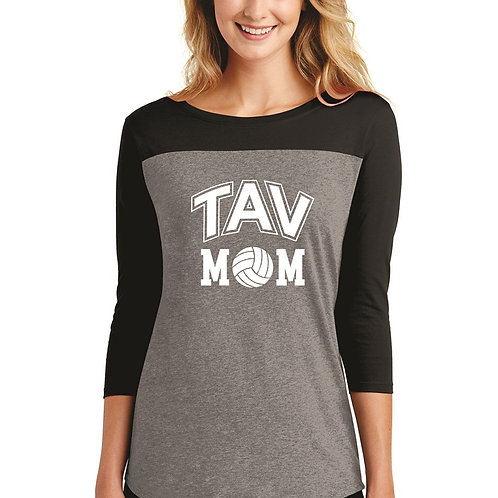 TAV MOM - District ® Women's Rally 3/4-Sleeve Tee