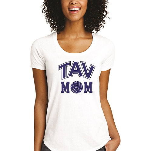TAV MOM - District ® Women's Fitted Very Important Tee ® Scoop