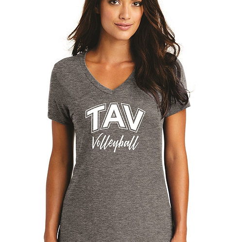 TAV VOLLEYBALL - District ® Women's Perfect Weight ® V-Neck Tee