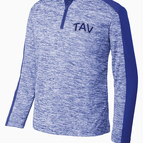 TAV Logo - Sport-Tek ® Youth PosiCharge ® Colorblock 1/4-Zip Pullover