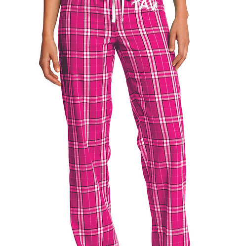 TAV Logo - District ® Women's Flannel Plaid Pant