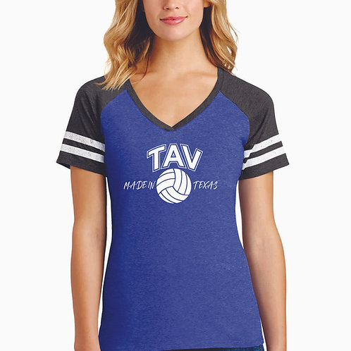 MADE IN TEXAS - District ® Women's Game V-Neck Tee