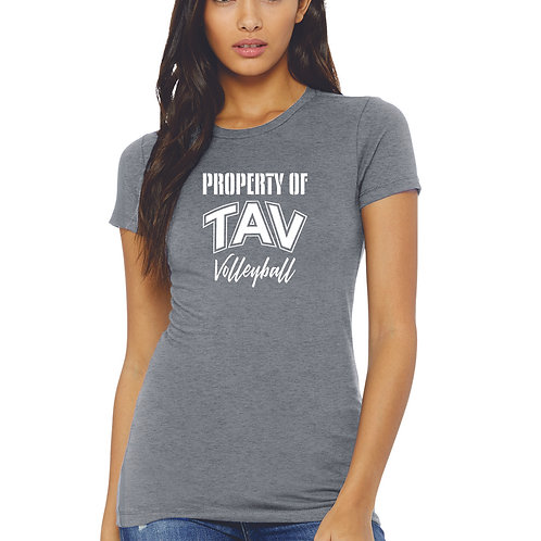 PROPERTY OF - BELLA+CANVAS ® Women's The Favorite Tee