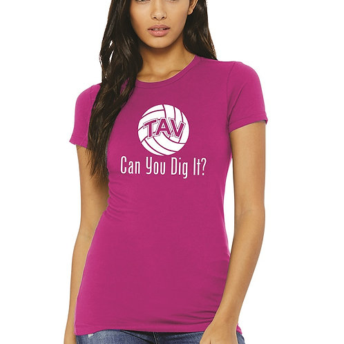 CAN YOU DIG IT - BELLA+CANVAS ® Women's The Favorite Tee